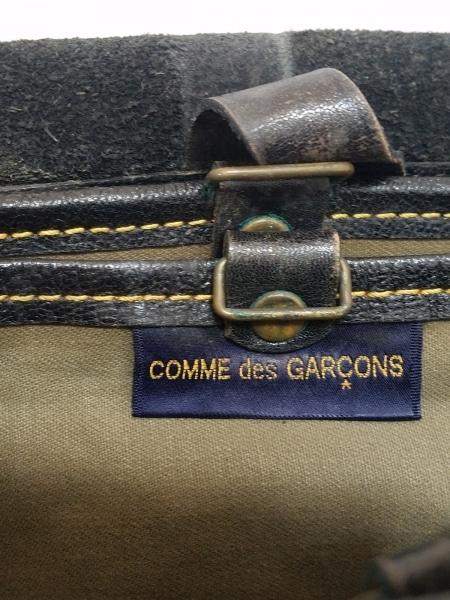 COMMEdesGARCONS(コムデギャルソン) ショルダーバッグ 黒 レザー