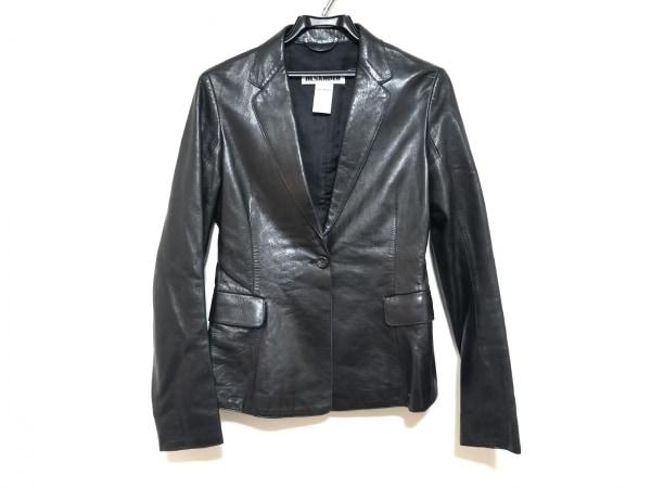 JILSANDER(ジルサンダー) ジャケット サイズ36 S レディース美品  黒 レザー