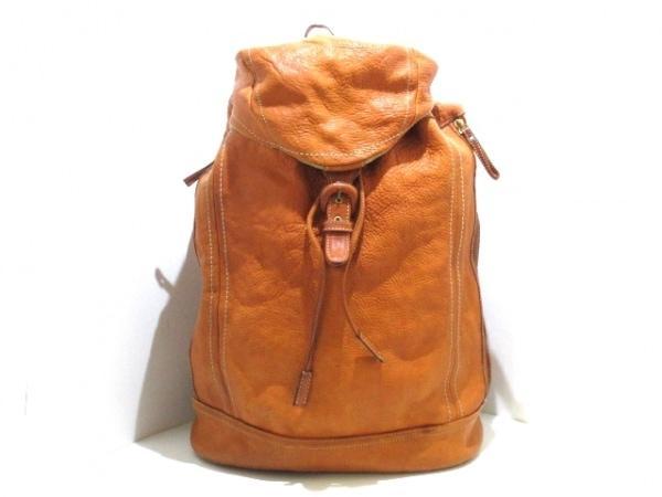 土屋鞄製造所(ツチヤカバンセイゾウショ) リュックサック ブラウン レザー