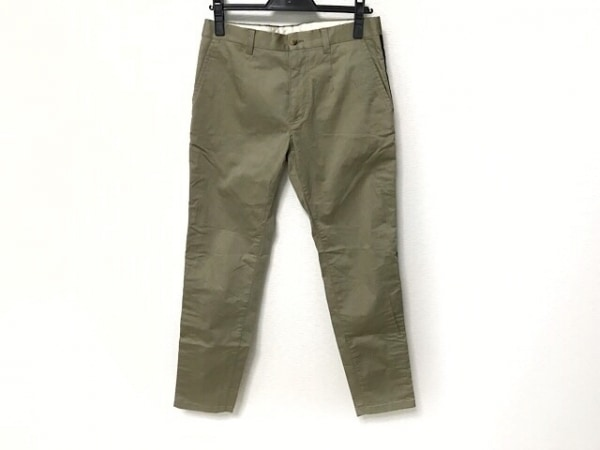 ドルチェアンドガッバーナ パンツ サイズ44 S メンズ カーキグレー×黒