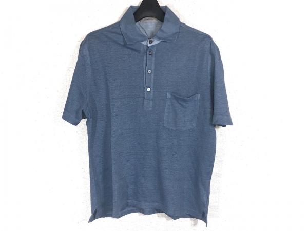 ErmenegildoZegna(ゼニア) 半袖ポロシャツ サイズS/48 メンズ ライトブルー