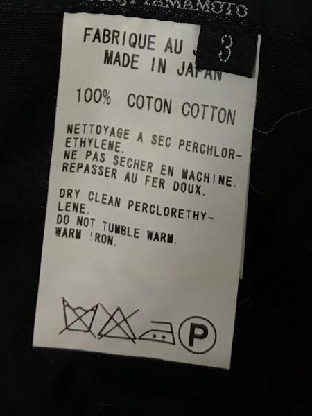 Y's(ワイズ) パンツ サイズ3 L メンズ 黒 YOHJI YAMAMOTO