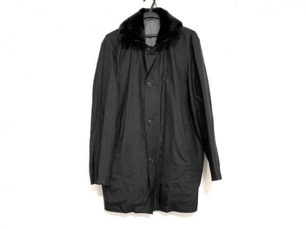 Dupont(デュポン) コート サイズS メンズ美品  黒 春・秋物/S.T.Dupont