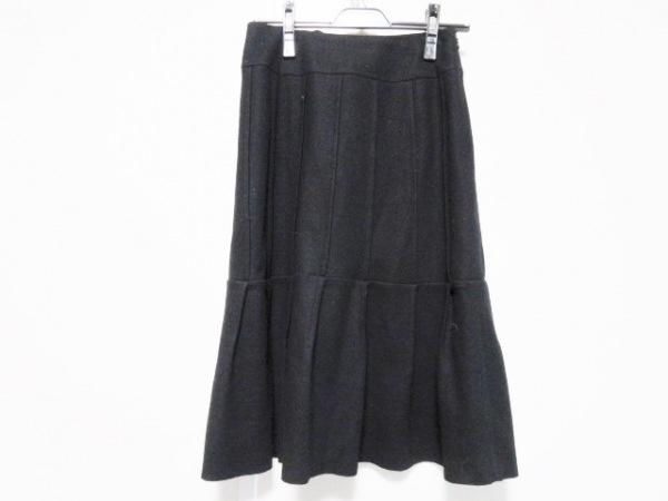 Sybilla(シビラ) スカート サイズL レディース 黒 フリル