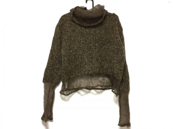クリッツィアマグリア 長袖セーター サイズ44 L レディース ダークブラウン