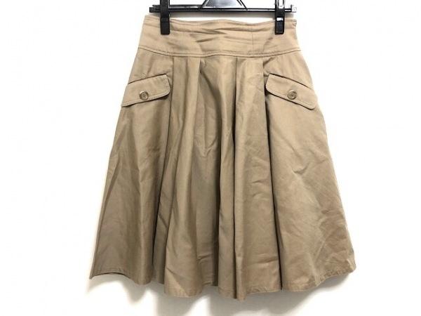 M'S GRACY(エムズグレイシー) スカート サイズ40 M レディース美品  ベージュ