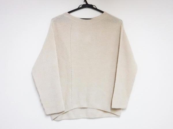 シンクロクロシング 長袖セーター サイズ36 S レディース アイボリー