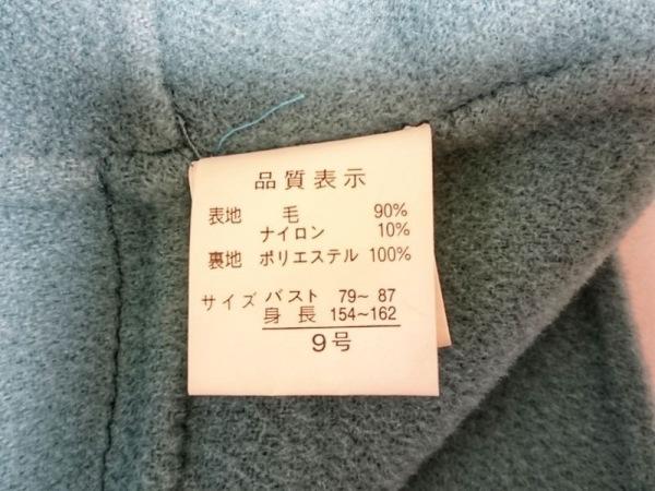 HARMONICA(ハーモニカ) コート サイズ9 M レディース グリーン 冬物