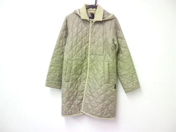 ラベンハム コート サイズ36 S レディース新品同様  ベージュ キルティング/冬物