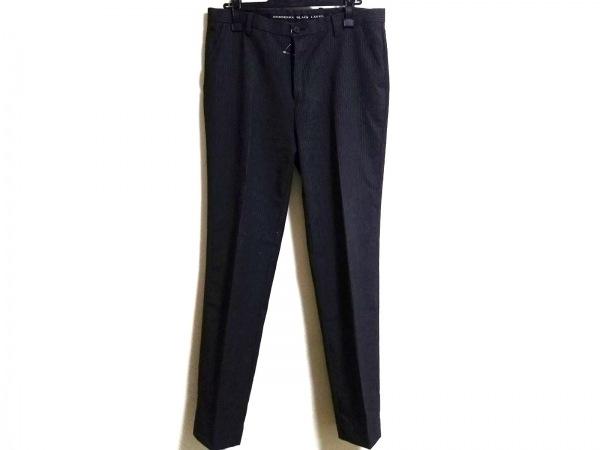バーバリーブラックレーベル パンツ サイズ76 メンズ ストライプ