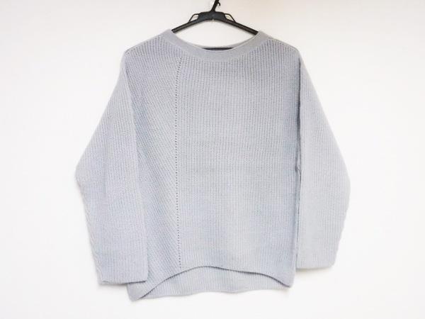 シンクロクロシング 長袖セーター サイズ36 S レディース美品  ライトブルー