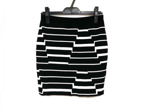 バンドオブアウトサイダーズ スカート サイズ2 M レディース美品  黒×アイボリー