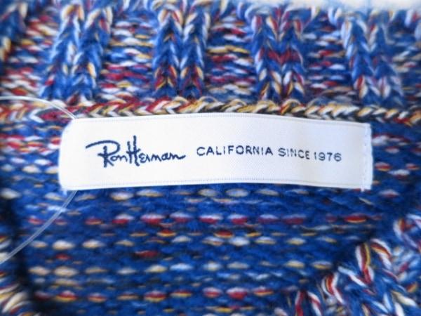Ron Herman(ロンハーマン) 長袖セーター サイズS メンズ美品  ブルー×マルチ
