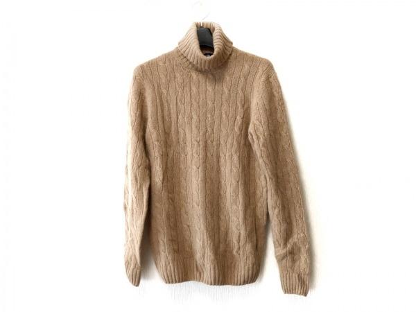 Drumohr(ドルモア) 長袖セーター サイズ46 XL メンズ ブラウン タートルネック