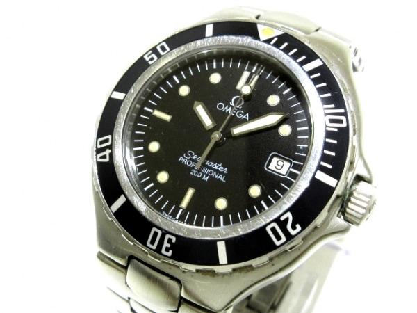 OMEGA(オメガ) 腕時計 シーマスタープロフェッショナル200 - メンズ 黒