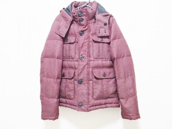 ニコルクラブ ダウンジャケット サイズ48 XL メンズ ボルドー FORMEN/冬物