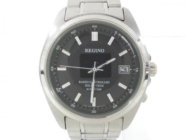 REGUNO(レグノ) 腕時計 H415-S057515 メンズ ダークグレー