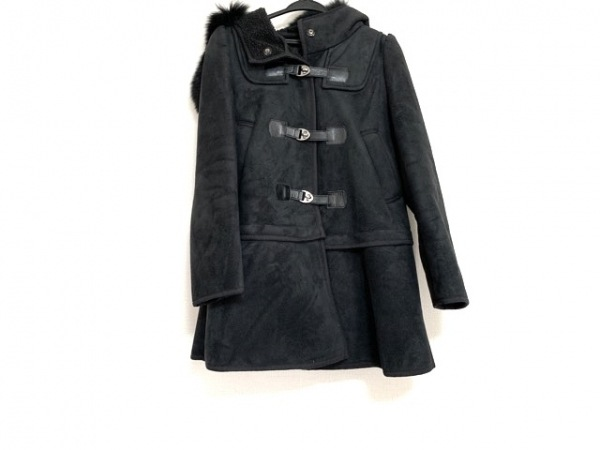 TO BE CHIC(トゥービーシック) コート サイズ40 M レディース美品  黒 冬物