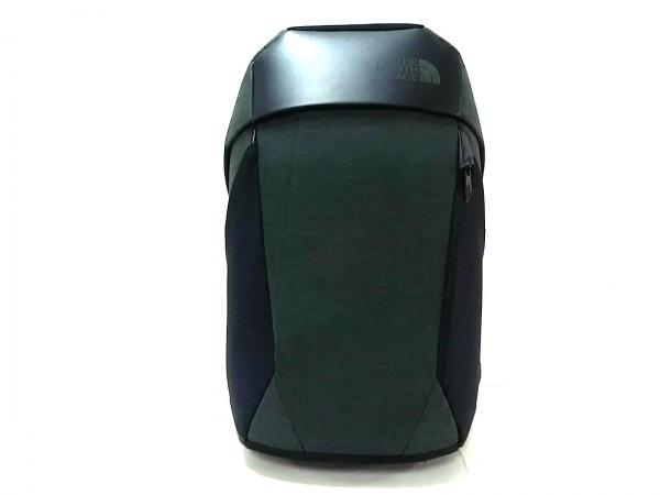 ノースフェイス リュックサック Access Pack O2 黒×グレー PCポケット 化学繊維