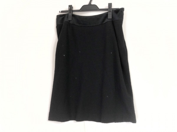 M'S GRACY(エムズグレイシー) スカート サイズ40 M レディース 黒