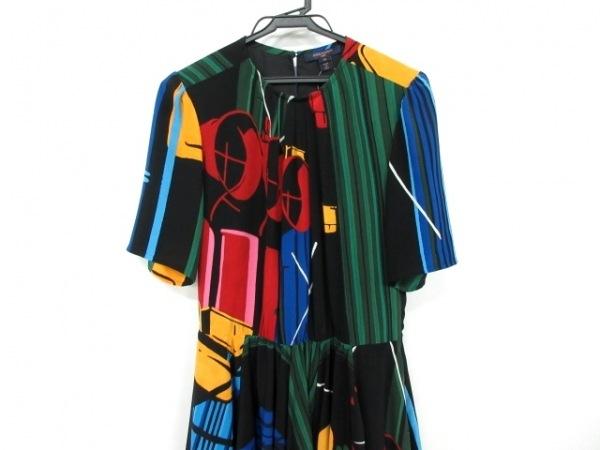 ルイヴィトン ワンピース サイズ36 S レディース美品  プリンテッドドレス 1A5REA