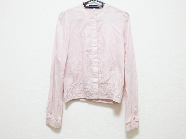 KENZO(ケンゾー) ブルゾン サイズ36 S レディース ピンク 春・秋物/刺繍