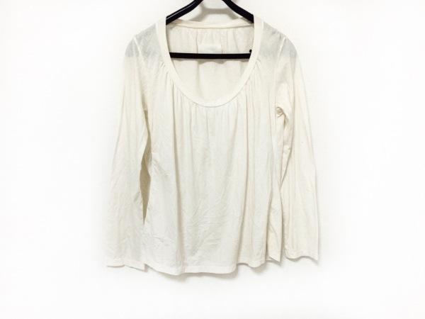 MARTIN MARGIELA(マルタンマルジェラ) 長袖Tシャツ サイズL レディース アイボリー