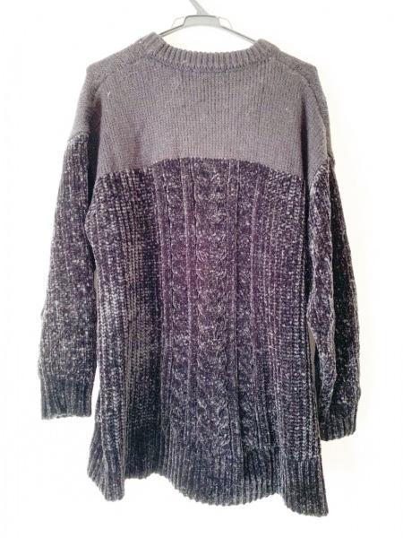 HYSTERIC GLAMOUR(ヒステリックグラマー) 長袖セーター サイズF レディース美品  黒