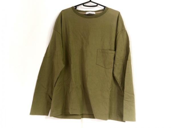 LABRAT(ラブラット) 長袖Tシャツ サイズM メンズ - - カーキ クルーネック