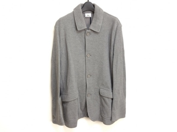 Lacoste(ラコステ) ジャケット サイズ5 XL メンズ グレー