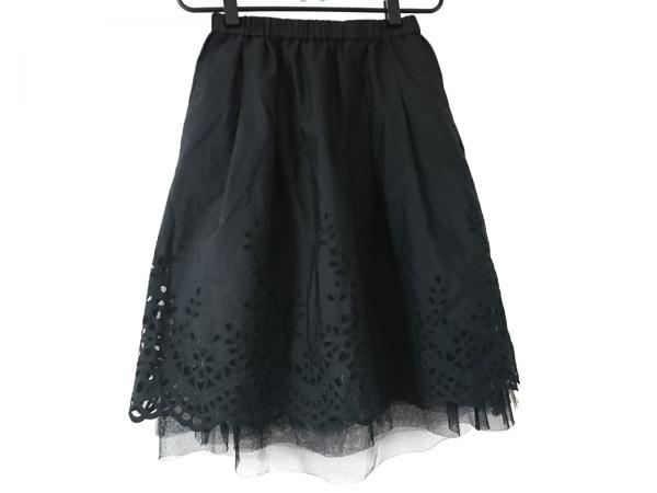 NOKO OHNO(ノコオーノ) スカート サイズ  レディース美品  黒 チュールスカート