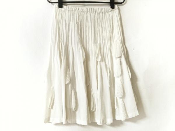 NOKO OHNO(ノコオーノ) スカート サイズ38 M レディース美品  アイボリー プリーツ