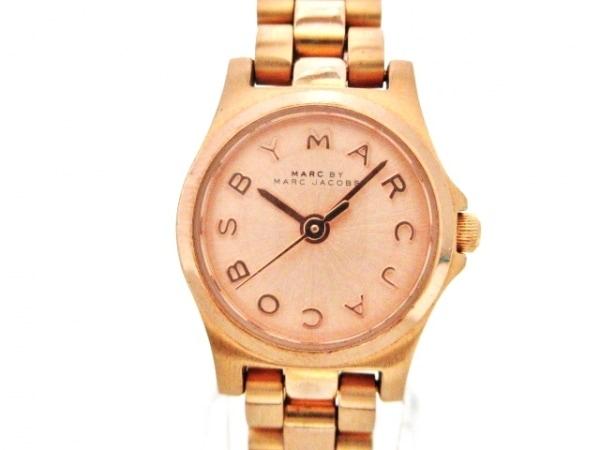 MARC BY MARC JACOBS(マークジェイコブス) 腕時計 MBM3200 レディース ピンクゴールド