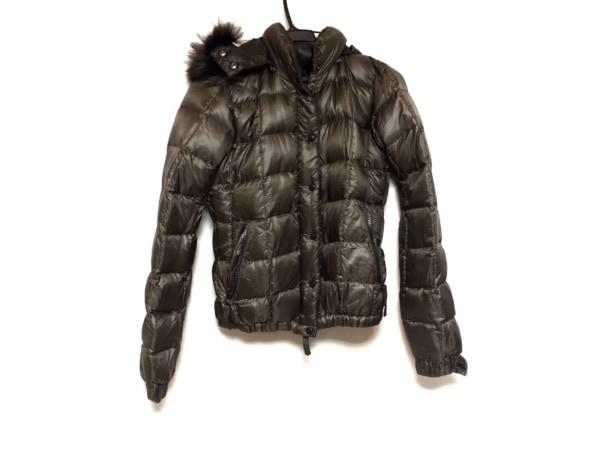デュベティカ ダウンジャケット サイズ40 M レディース美品  Ecate ダークブラウン