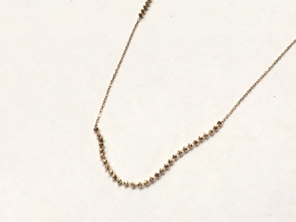 cocoshnik(ココシュニック) ネックレス美品  K10