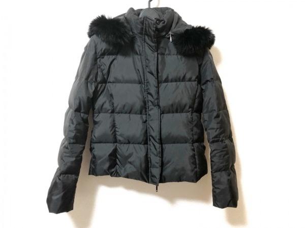 ef-de(エフデ) ダウンジャケット サイズ7 S レディース美品  黒