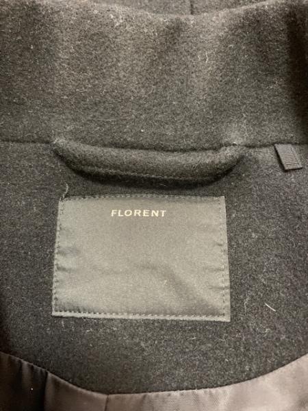 FLORENT(フローレント) コート レディース美品  黒 冬物/ロング丈