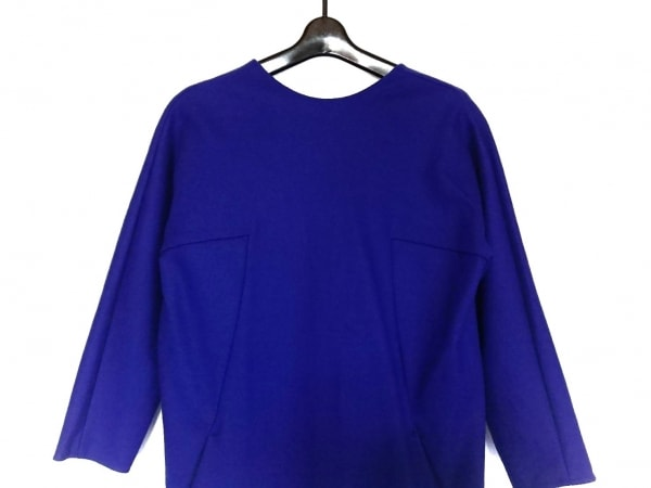YOKO CHAN(ヨーコ チャン) ワンピース サイズ38 M レディース美品  ブルー