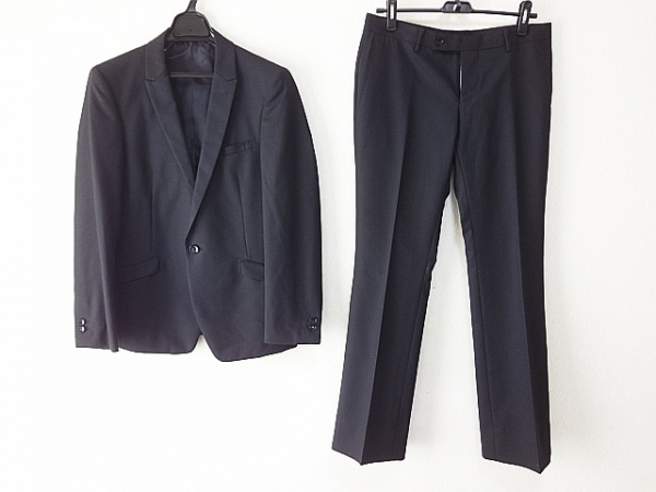 HIDEAWAYS NICOLE(ハイダウェイニコル) シングルスーツ サイズ46 XL メンズ 黒