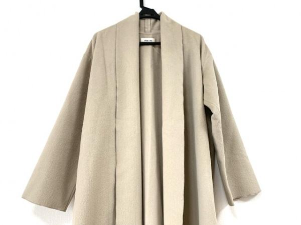 evam eva(エヴァムエヴァ) コート サイズ2 M レディース美品  ベージュ 冬物