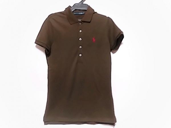 RalphLauren(ラルフローレン) 半袖ポロシャツ サイズM レディース ダークブラウン