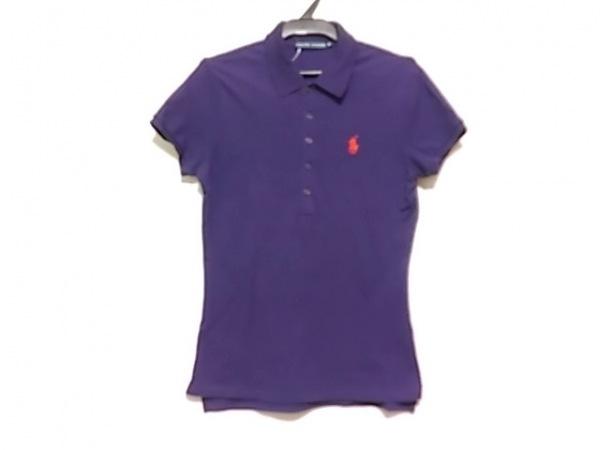 RalphLauren(ラルフローレン) 半袖ポロシャツ サイズM レディース パープル