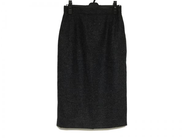 FENDI(フェンディ) スカート サイズ42 M レディース美品  ダークグレー×グレー