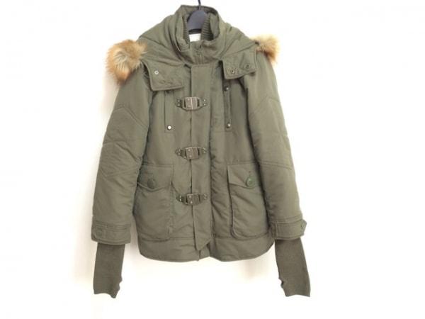 SLY(スライ) ダウンジャケット サイズ1 S レディース グリーン 冬物