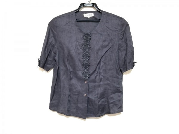 EL MIDAS(エルミダ) ジャケット サイズ10 L レディース美品  パープル 肩パッド