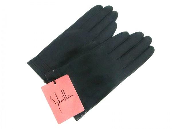 Sybilla(シビラ) 手袋 レディース美品  黒 羊革