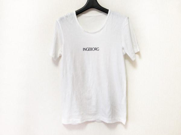 INGEBORG(インゲボルグ) 半袖Tシャツ レディース 白