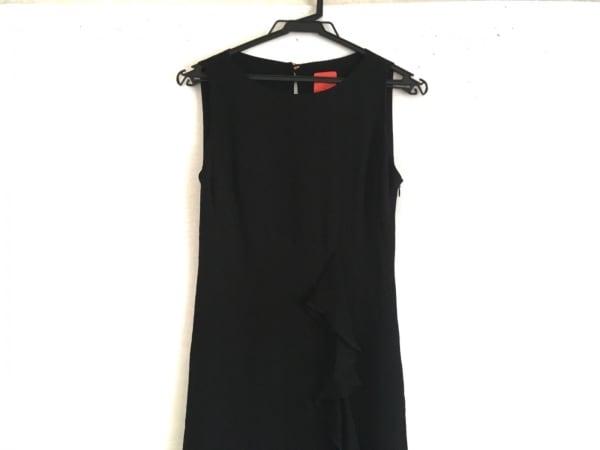Christian Lacroix(クリスチャンラクロワ) ワンピース サイズ38 M レディース美品  黒
