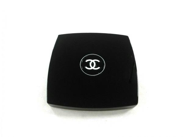 CHANEL(シャネル) ミラー美品  黒×白 ダブルミラー プラスチック