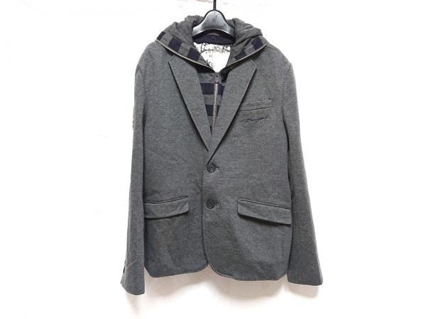 Desigual(デシグアル) ジャケット サイズ54 L メンズ美品  Rainbow